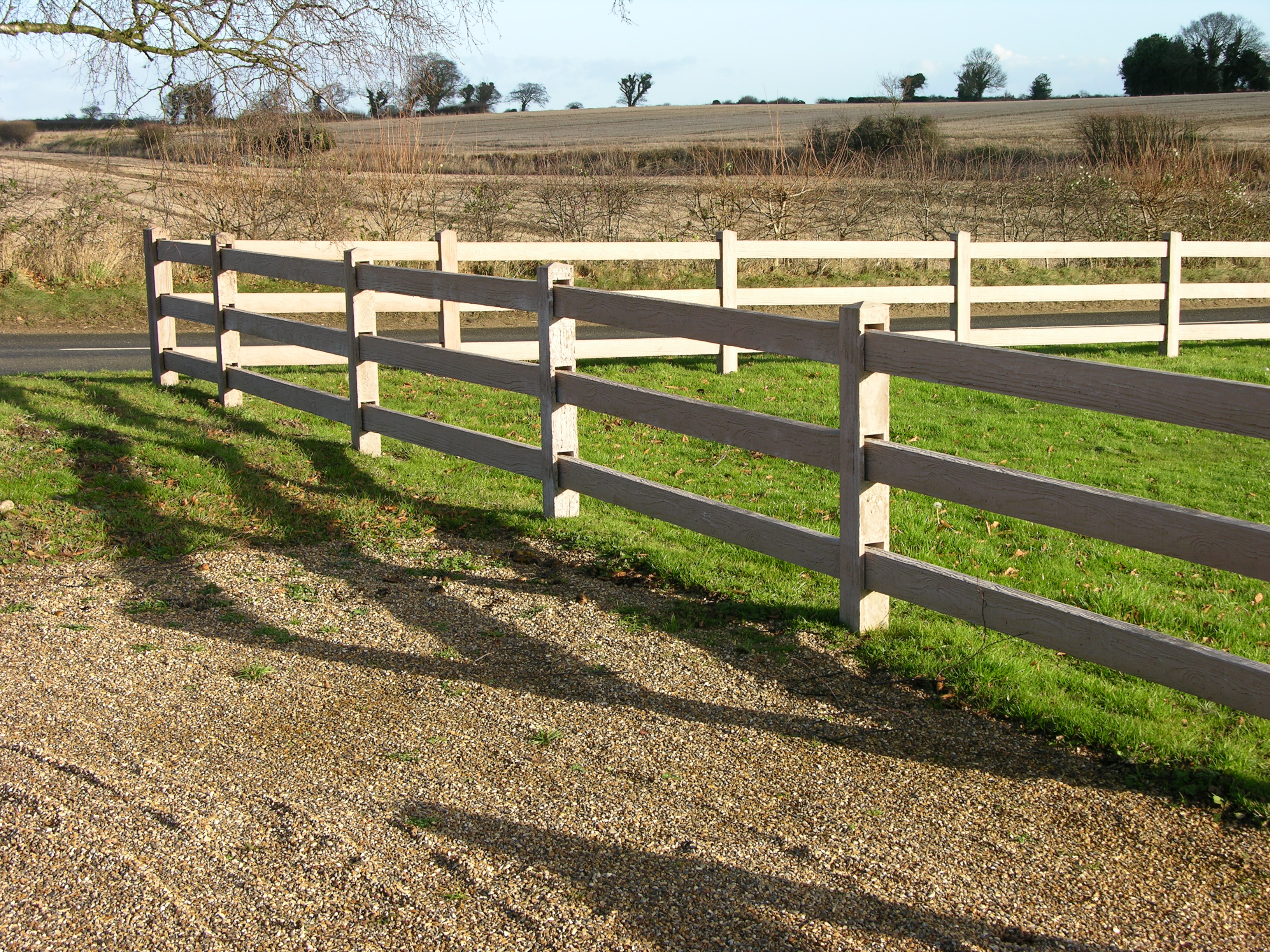 Norwich fencing fence panels equestrian paddock post